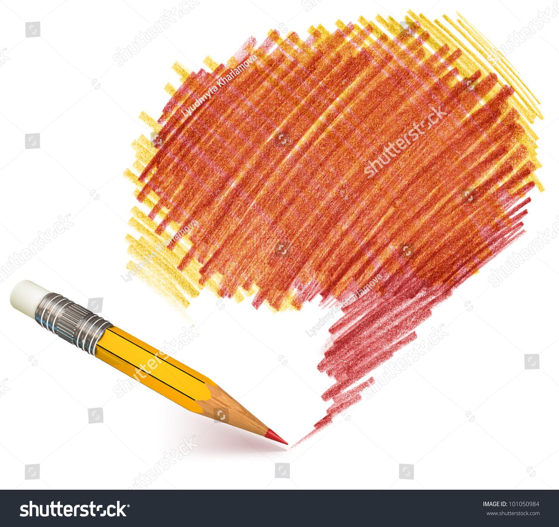 铅笔阴影.手绘.涂鸦