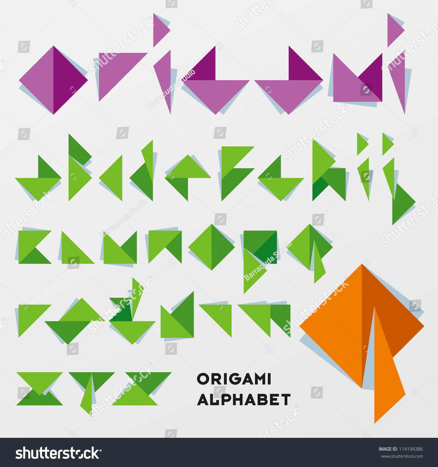 产品折纸设计元素