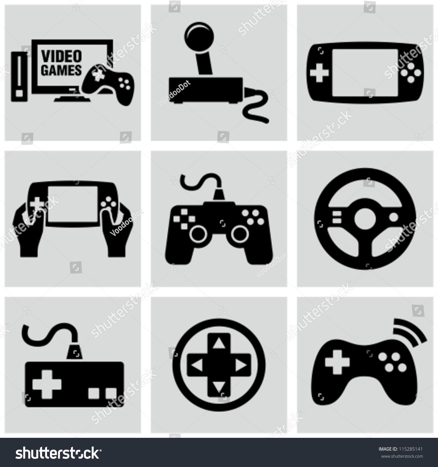 视频游戏图标设置