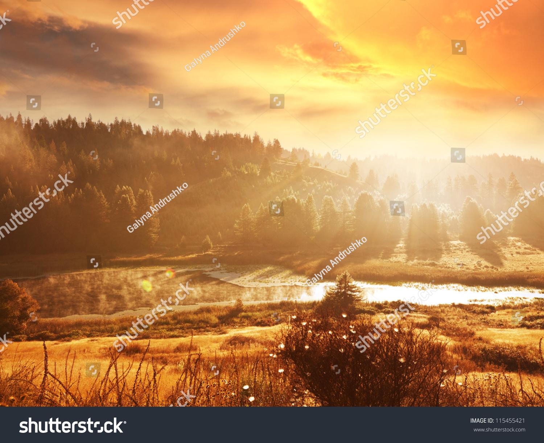 秋天的风景-自然,公园/户外-海洛创意(hellorf)-中国