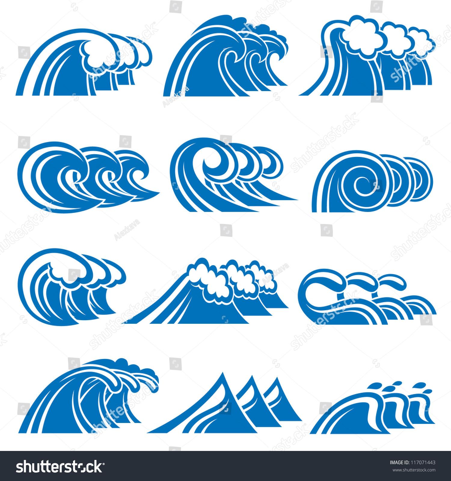 插图的海浪-食品及饮料,自然-海洛创意(hellorf)-中国