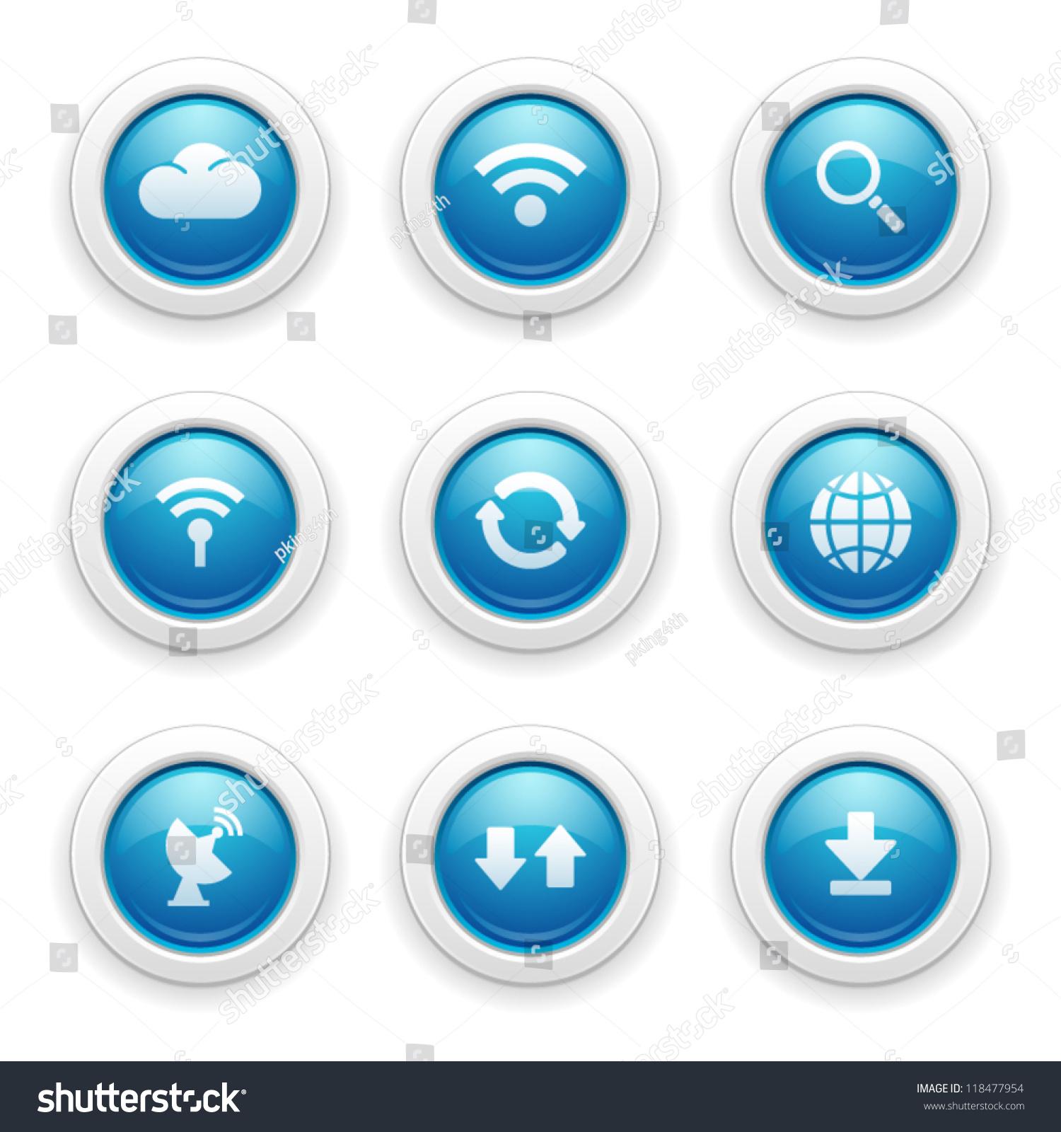 网络连接图标-科技,符号/标志-海洛创意(hellorf)--.