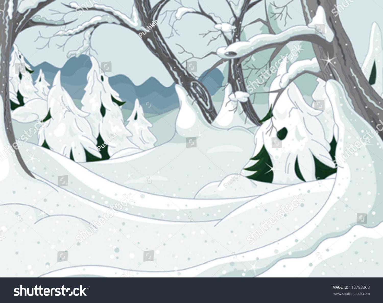 ppt冬天卡通人物素材