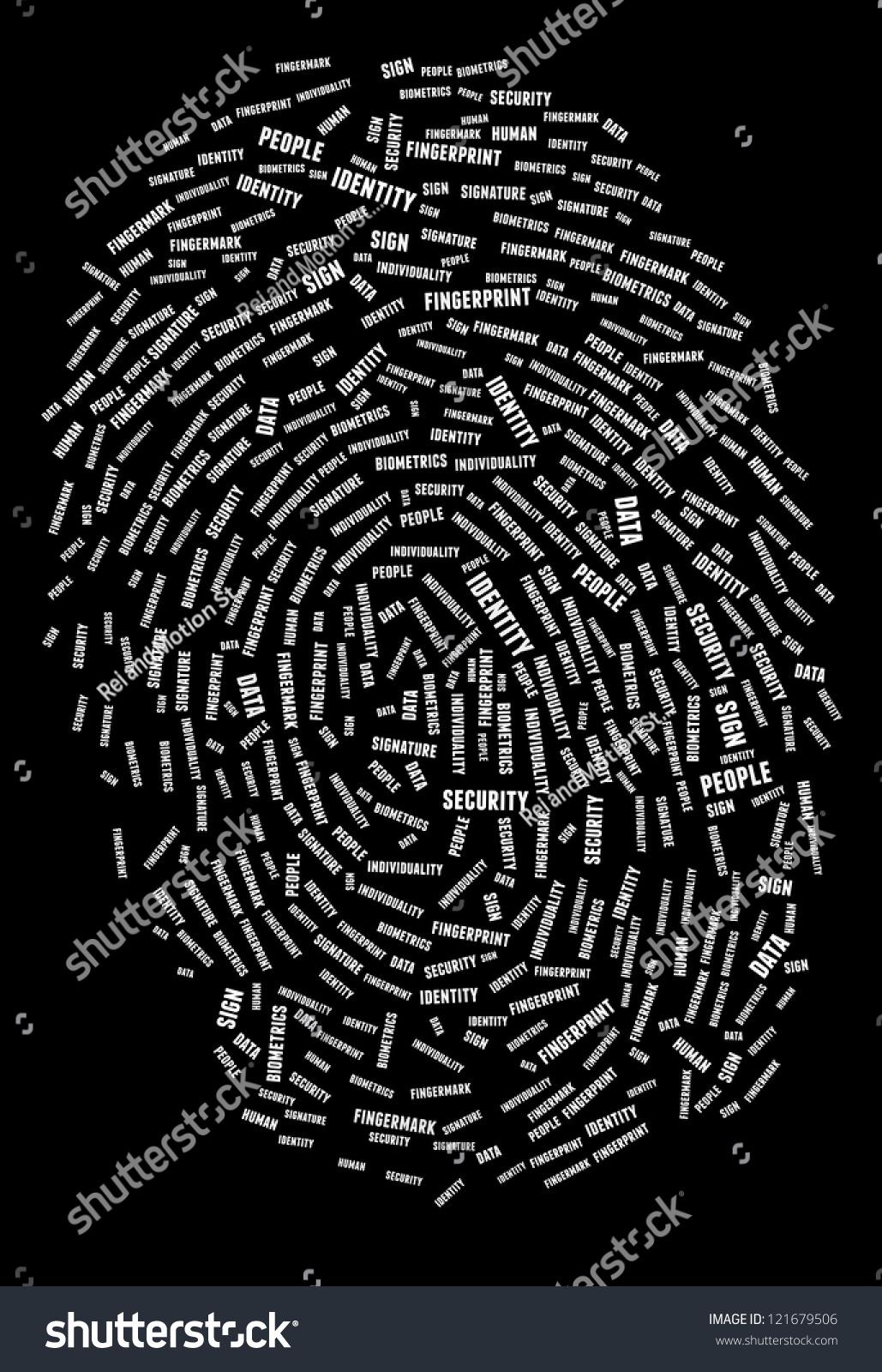 指纹在拼贴-人物,科技-海洛创意(hellorf)-中国独家-.图片