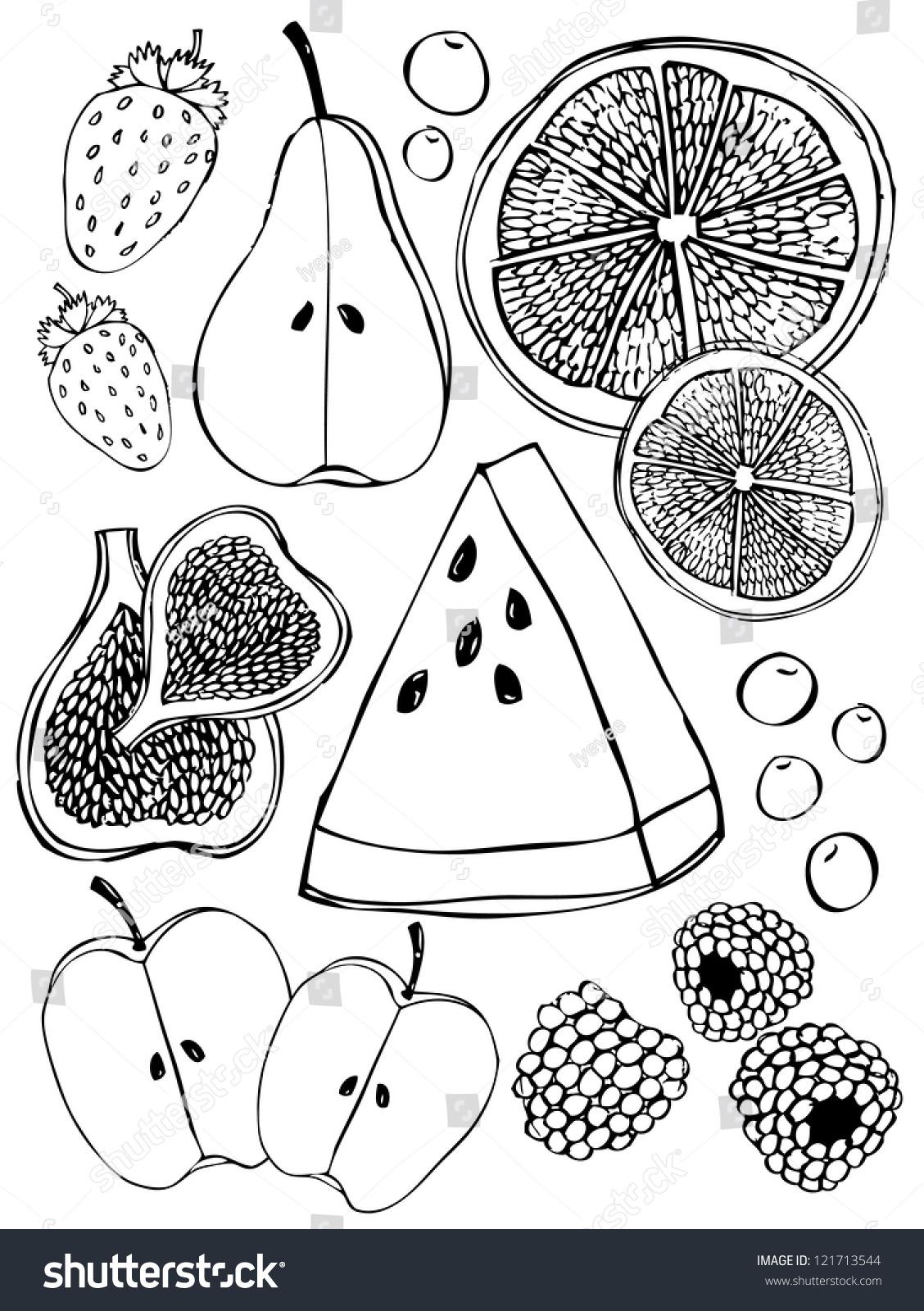 100种水果简笔画 步骤