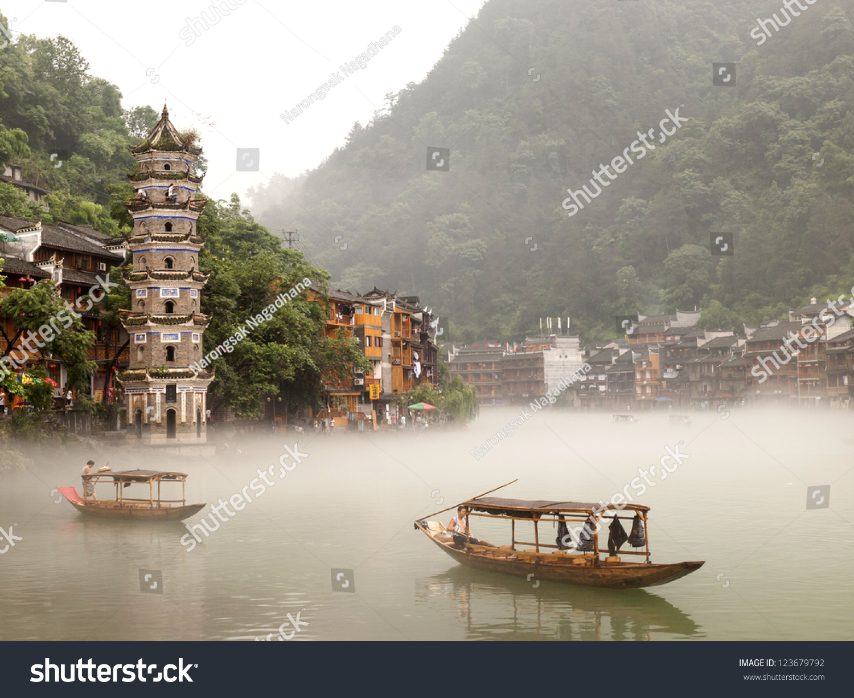 微信头像 风景 山水建筑物