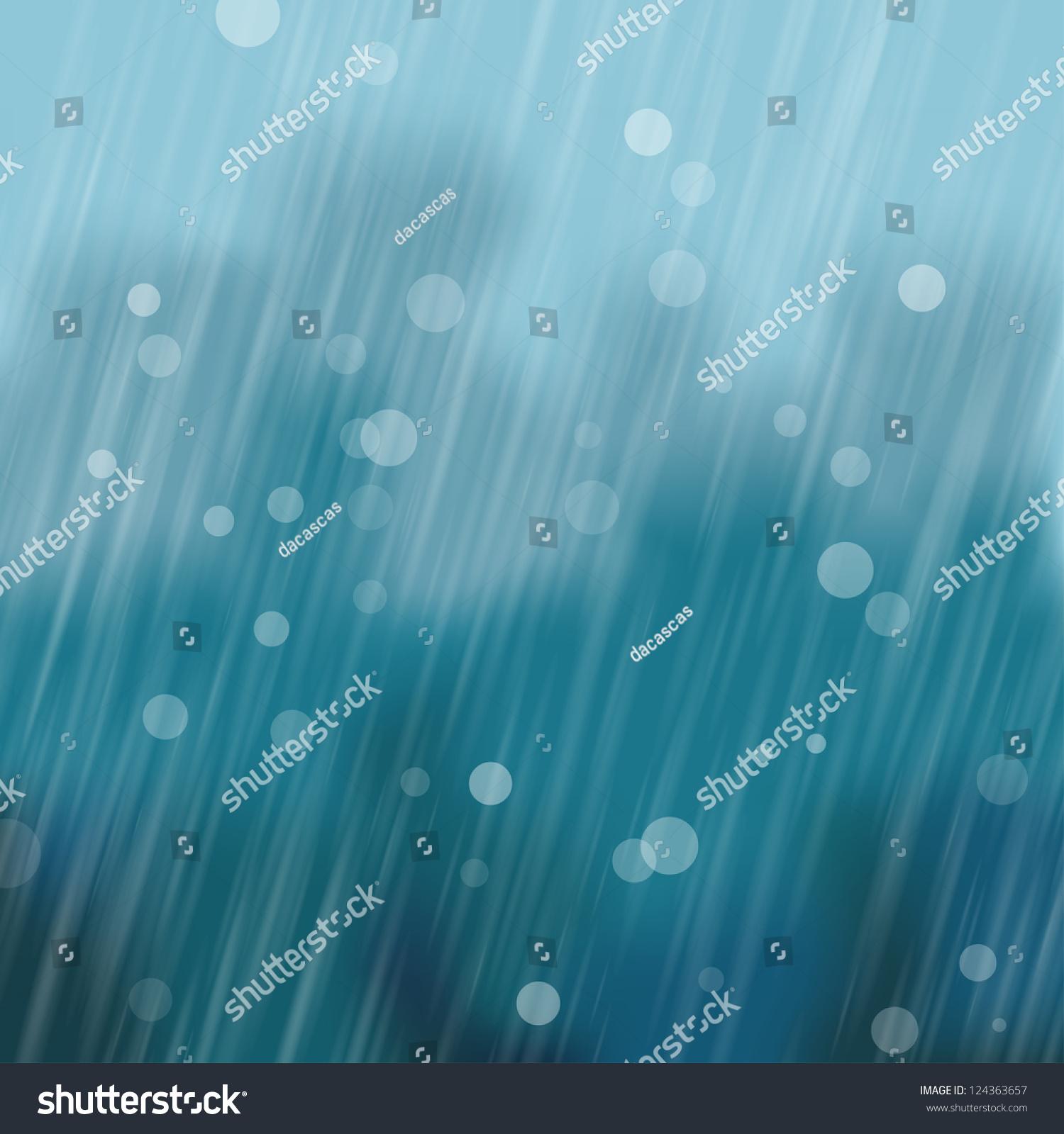 大雨背景.矢量图
