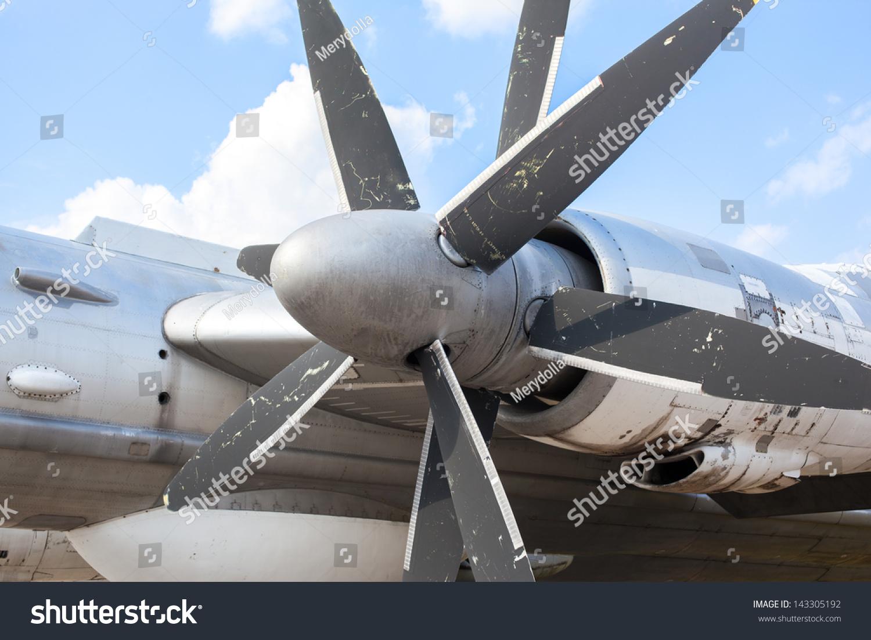 发动机螺旋桨飞机-科技,其它-海洛创意(hellorf)-中国