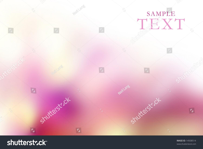 一系列的背景为名片,与春天的颜色鲜艳的粉红色和样品