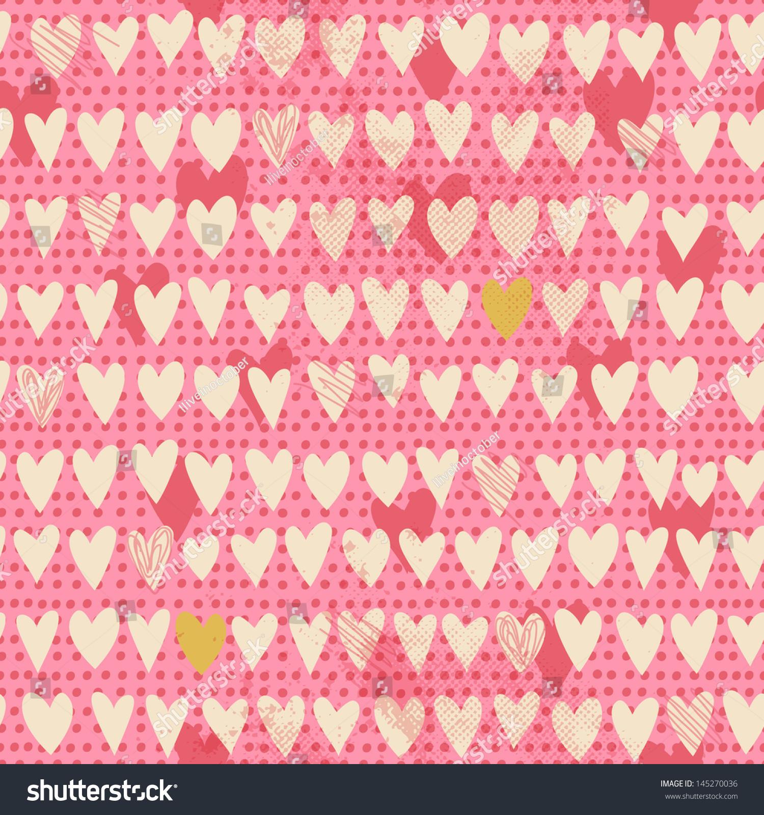 浪漫的无缝模式与小手绘的心。卡通粉红色背景。说明你的纺织品、纸张、文具或皮肤设计。 - 背景/素材,抽象 - 站酷海洛创意正版图片,视频,音乐素材交易平台 - Shutterstock中国独家合作伙伴 - 站酷旗下品牌