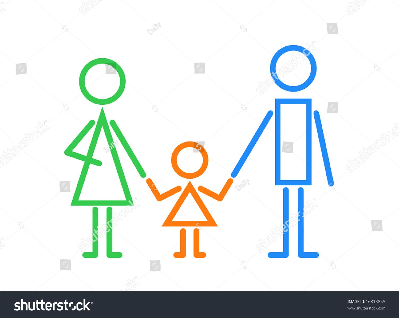 家庭标识-插图/剪贴图,人物-海洛创意(hellorf)-中国
