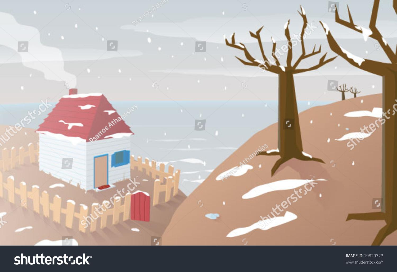 幼儿创意剪贴房子