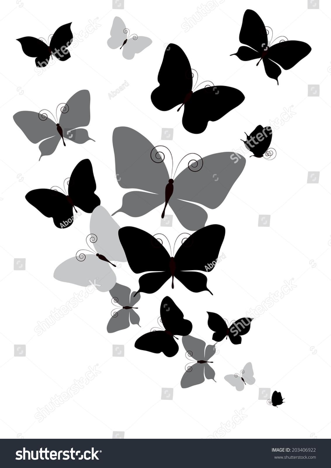 蝴蝶设计-背景/素材,自然-海洛创意(hellorf)-中国-.