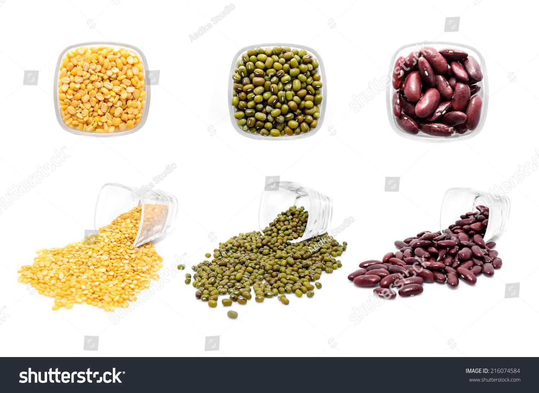 白底豆和豌豆的混合-食品及饮料-海洛创意(hellorf)-.