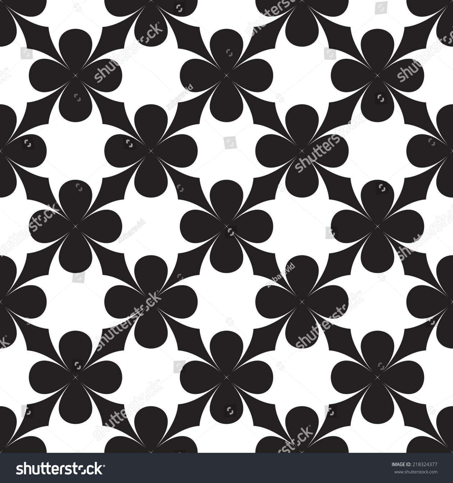 几何黑白图案-背景/素材,抽象-海洛创意(hellorf)--.