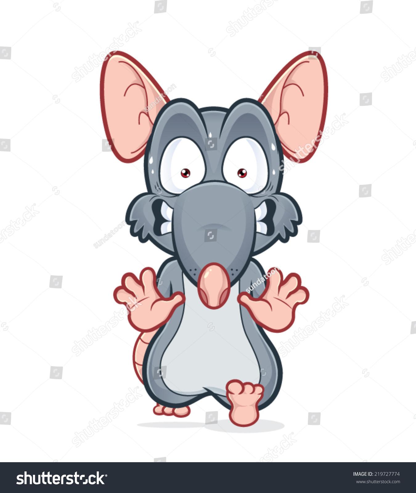 运行害怕老鼠-动物/野生生物,艺术-海洛创意(hellorf)