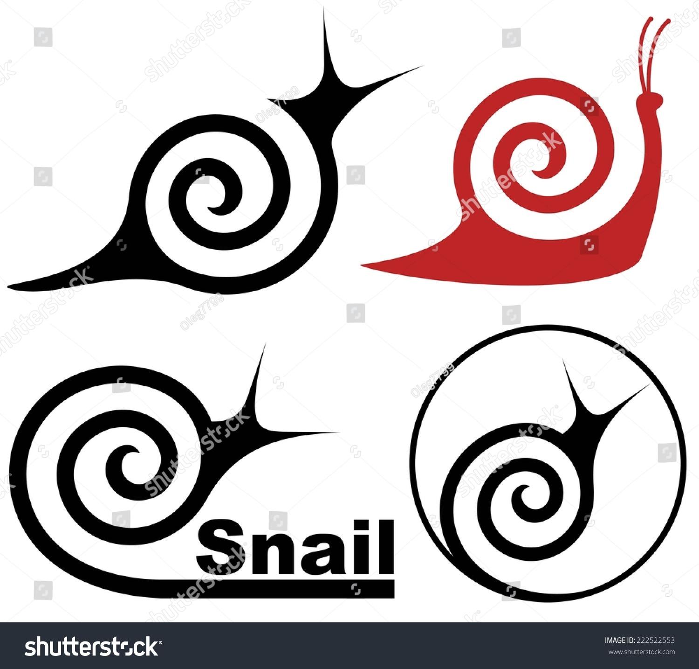 蜗牛-动物/野生生物,符号/标志-海洛创意(hellorf)--.