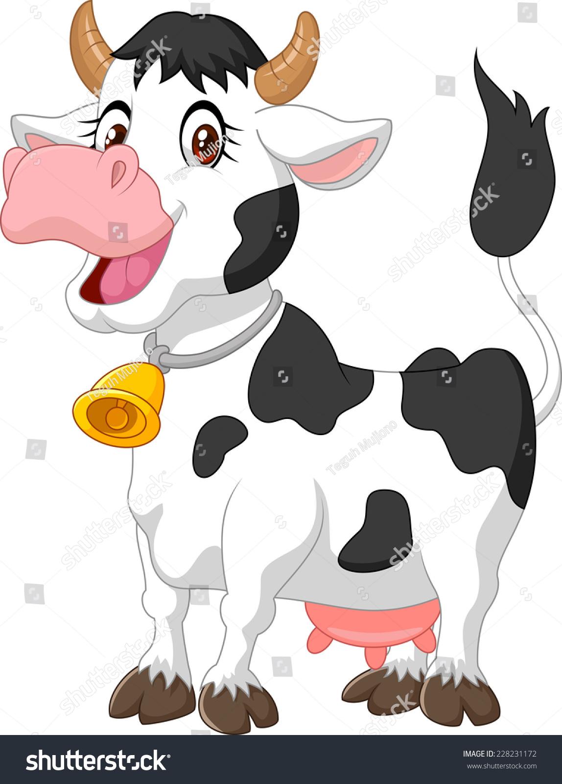 快乐的卡通牛-动物/野生生物-海洛创意(hellorf)-中国