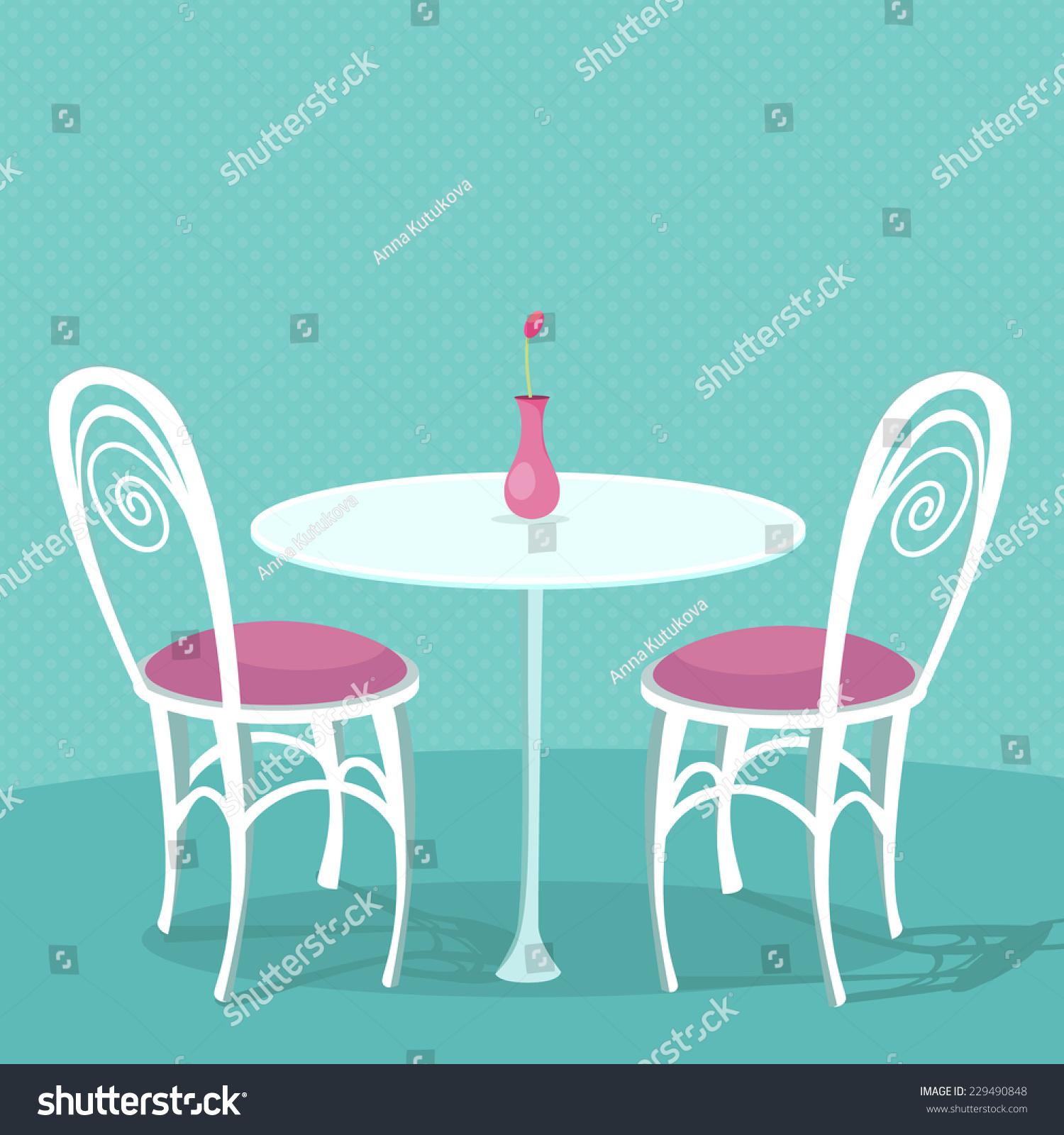 椅子与粉红色缓冲和