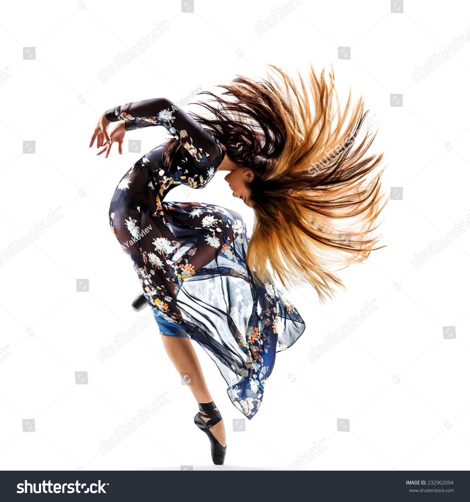 微信头像舞者黑白