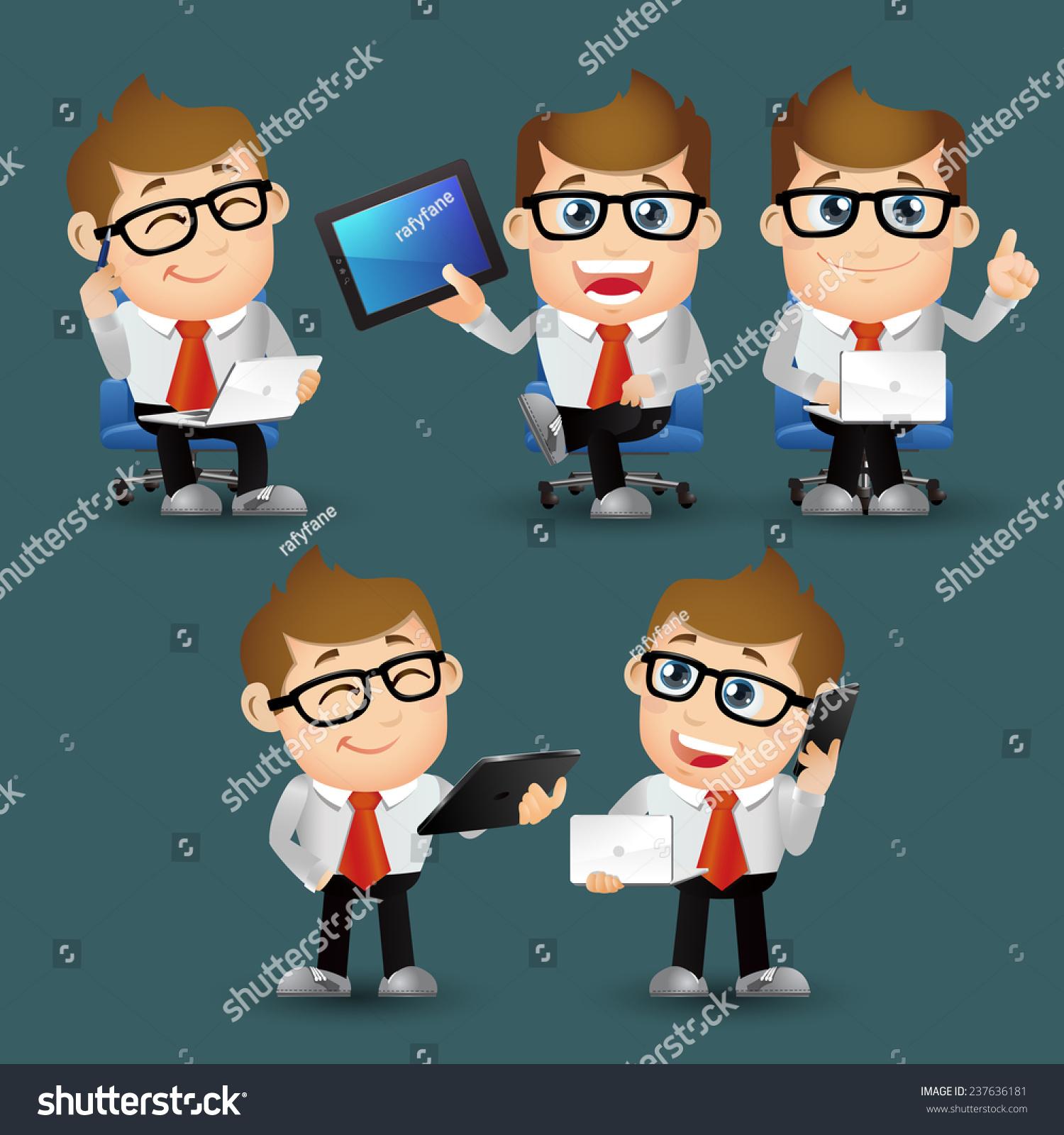 人组-业务办公室人坐在笔记本电脑-商业/金融