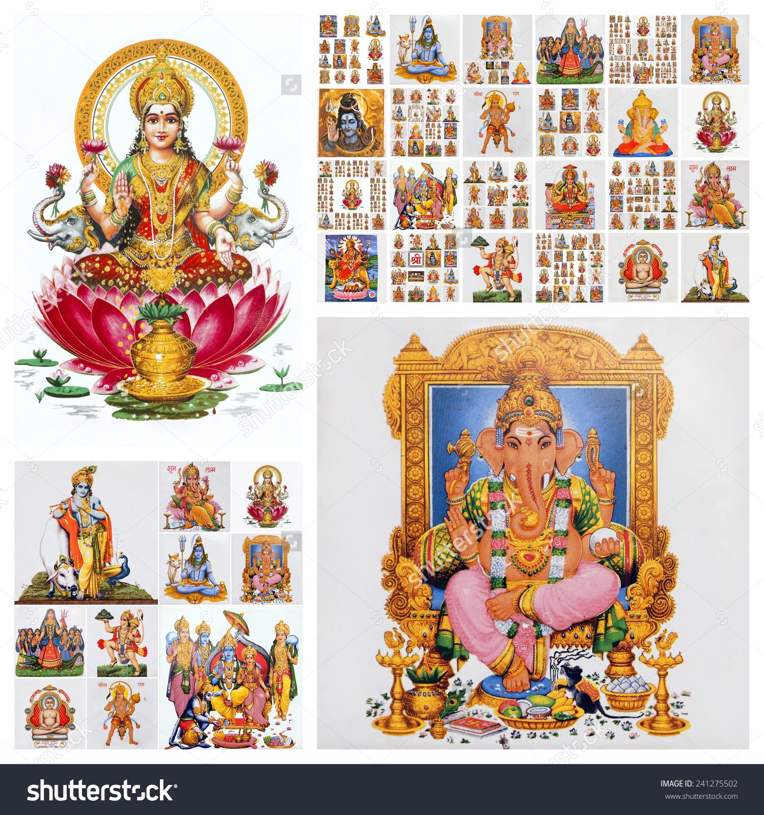 印度教神拼贴画