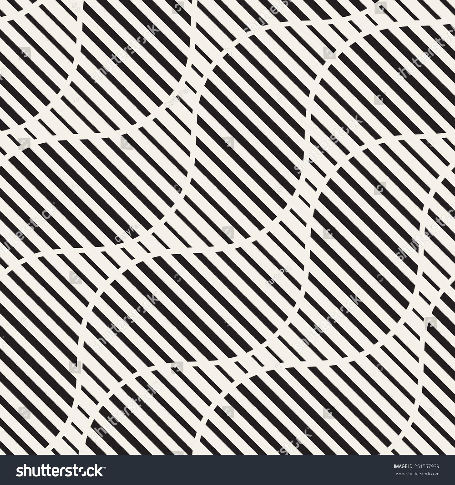 重复条纹线性纹理.时尚的波浪背景与不