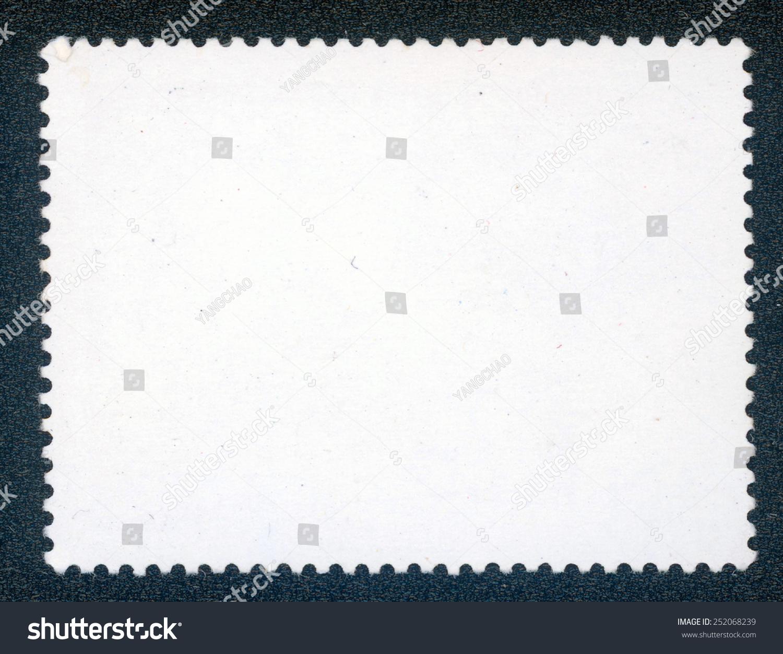 邮票简约线条边框素材