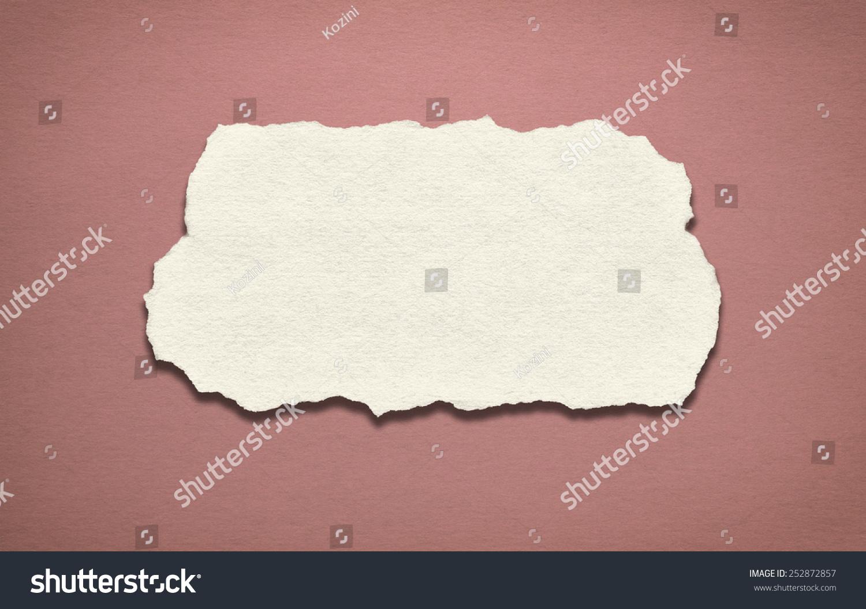 背景的老纸撕纸的中心.-背景/素材,复古风格-海洛创意