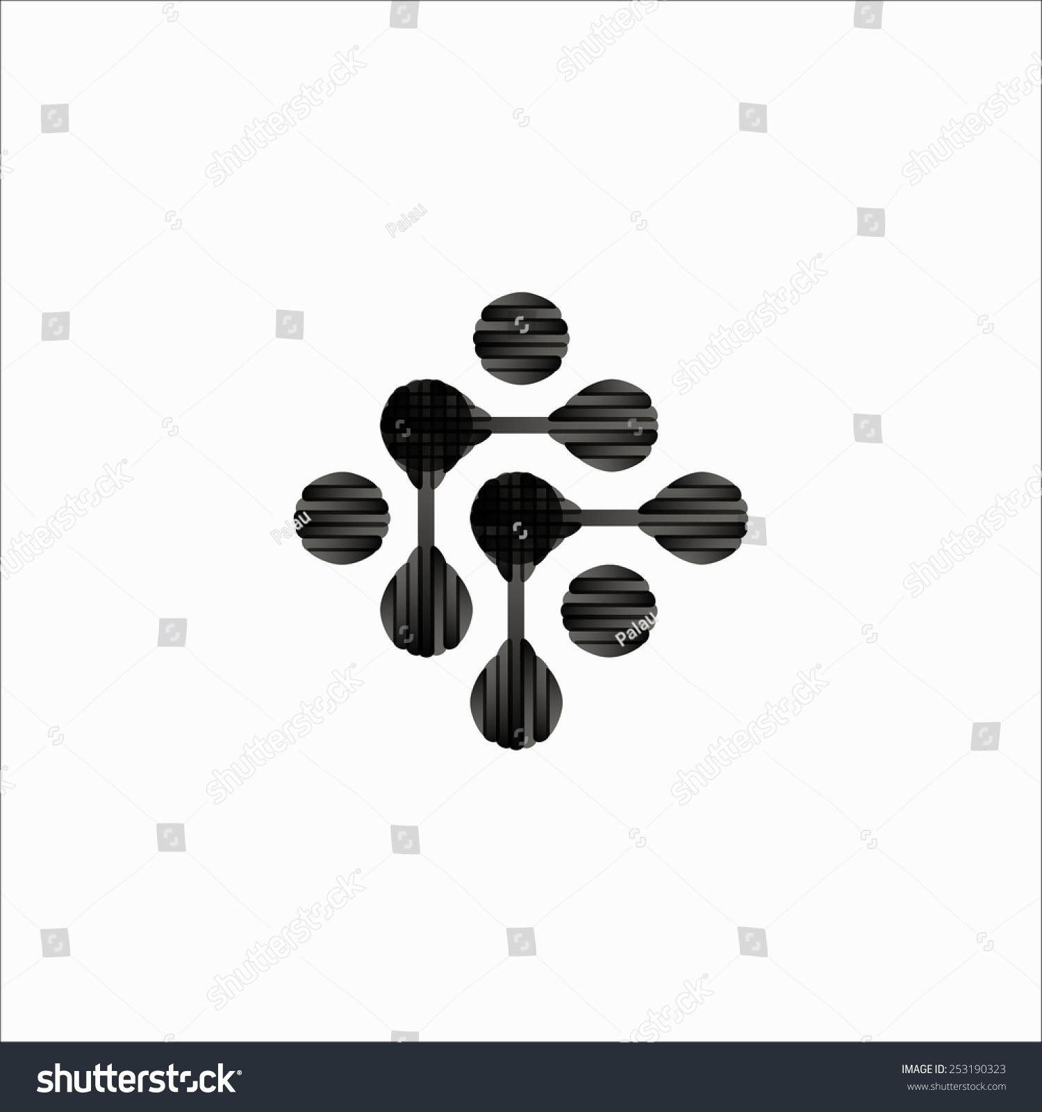 分子结构,符号-物体,科学-海洛创意(hellorf)-中国