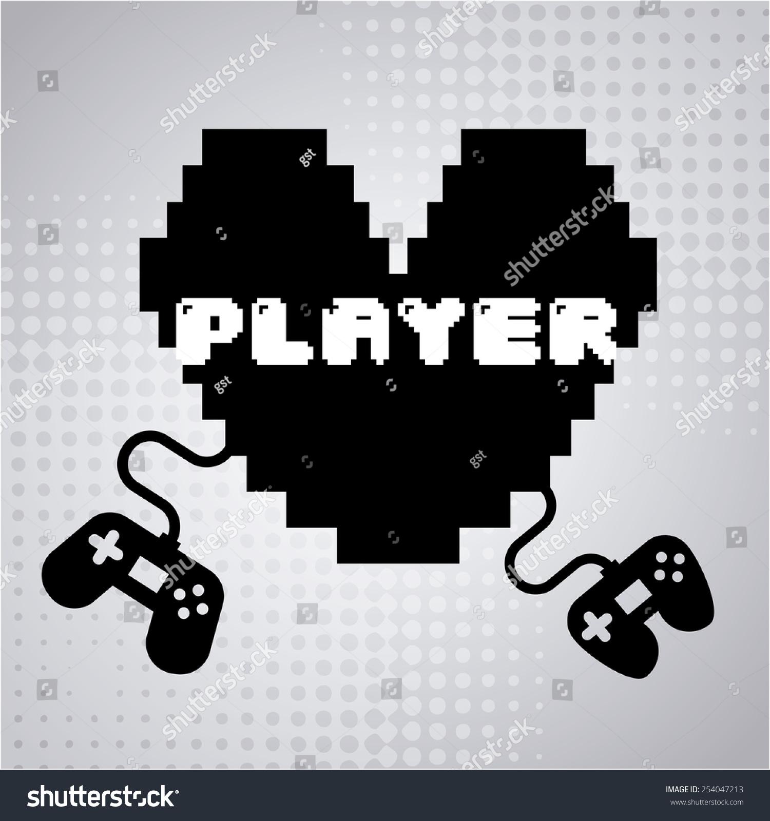 视频游戏设计,矢量图eps10图形-背景/素材,物体-海洛