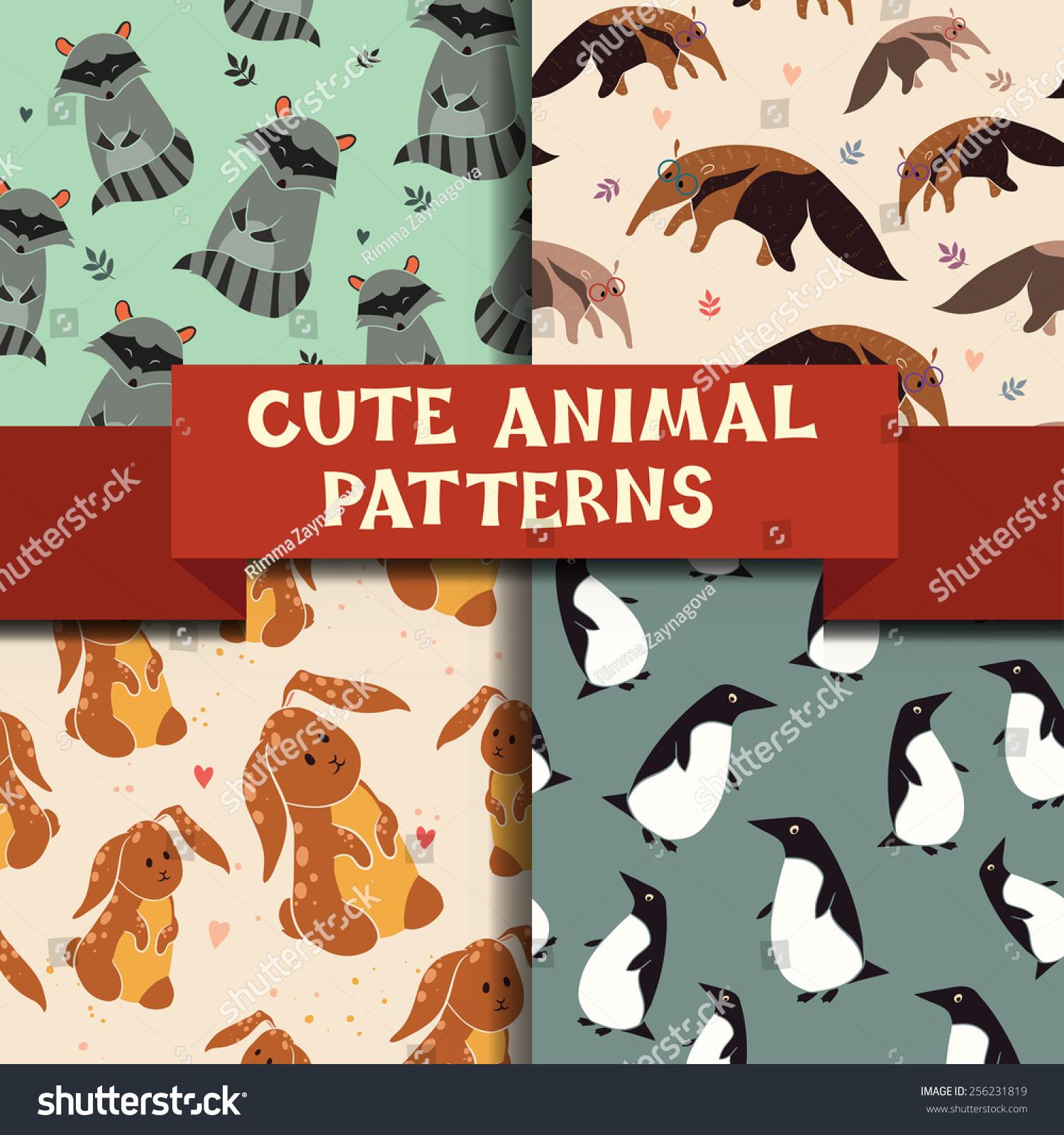 用可爱的动物集合4个传奇模式.企鹅