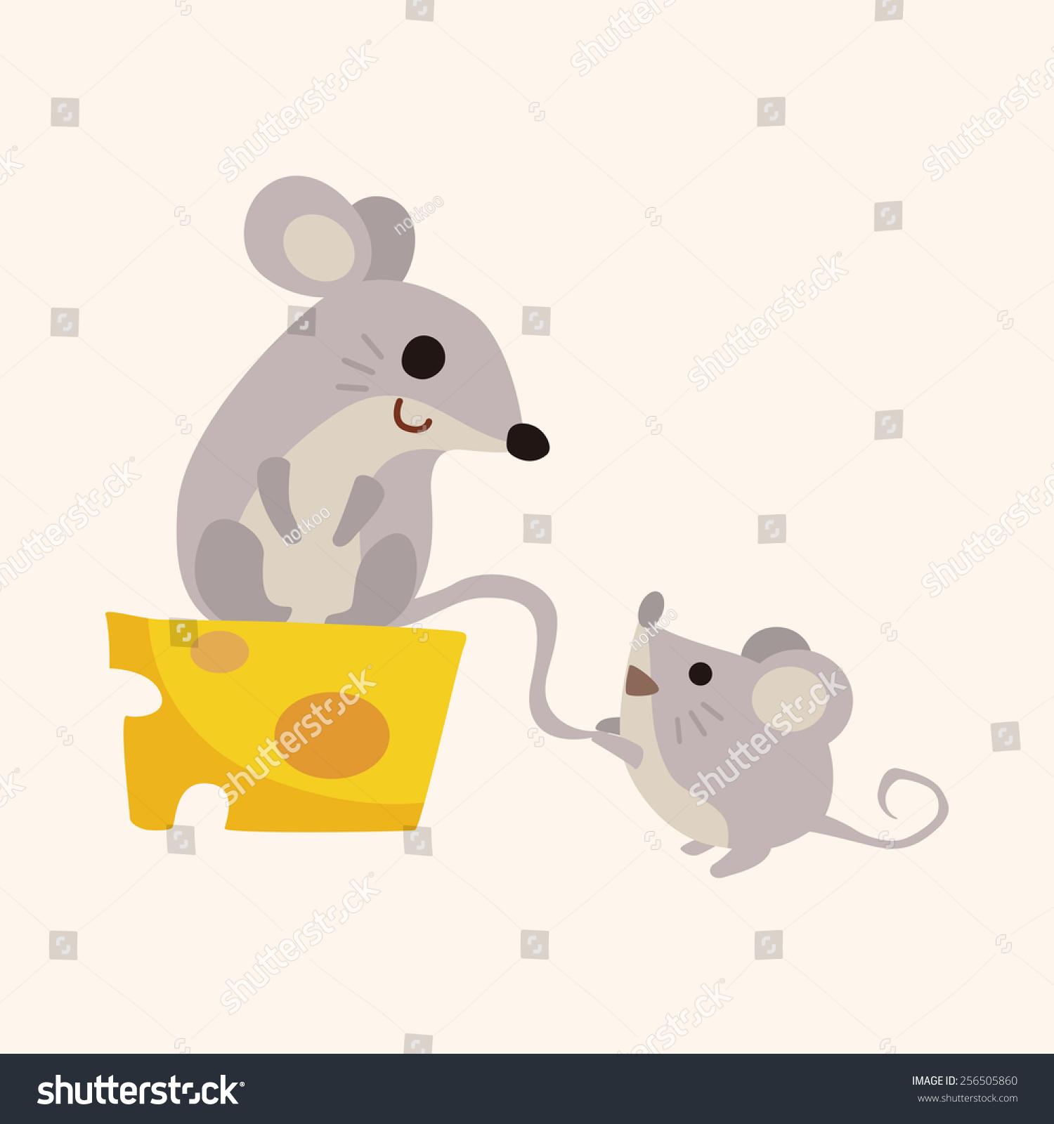 动物鼠卡通主题元素-物体-海洛创意(hellorf)-中国