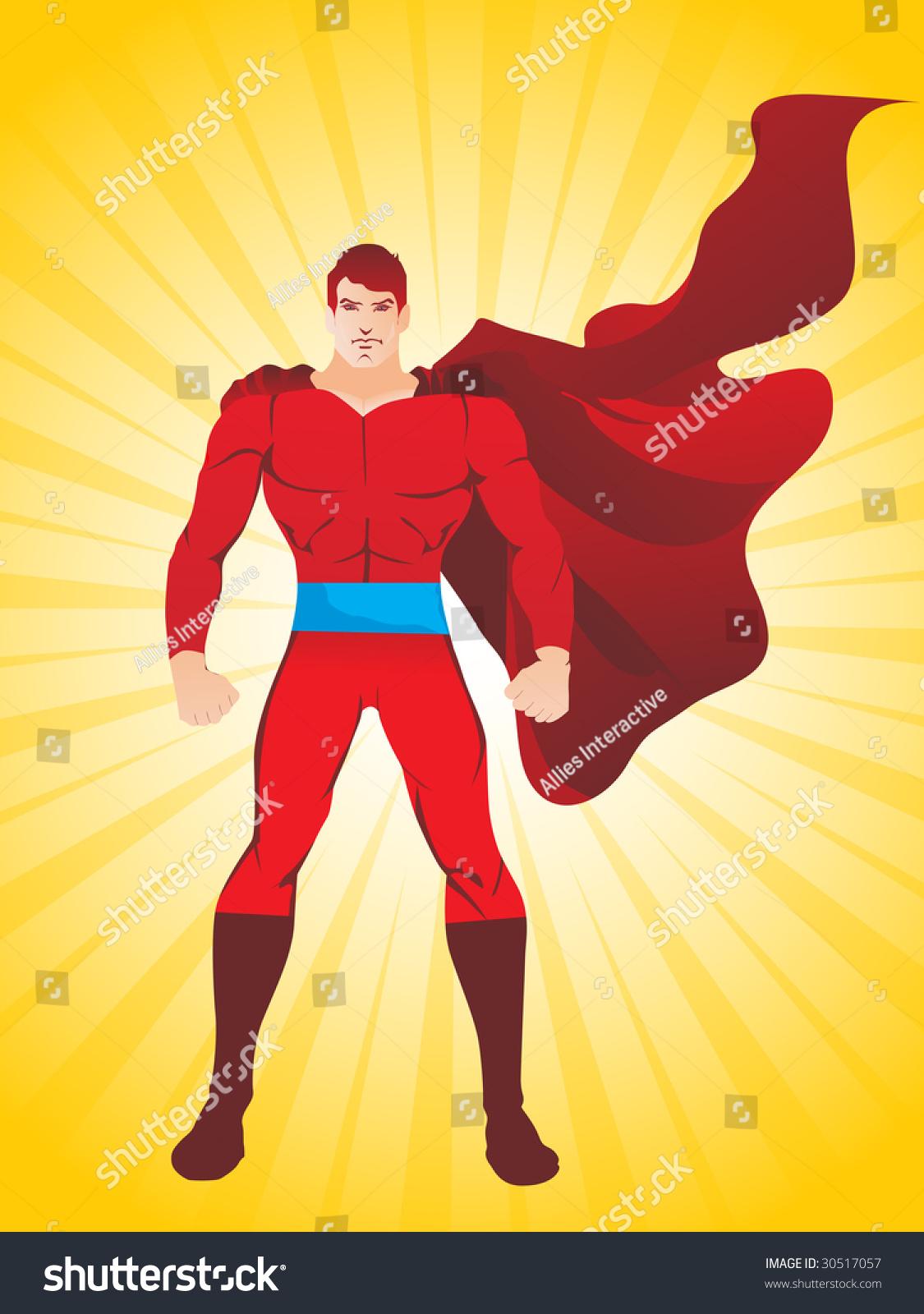 超人高清壁纸ppt素材