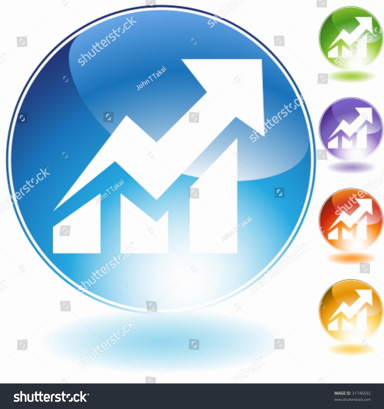 股票市场图标-插图/剪贴图,交通运输-海洛创意()-中国