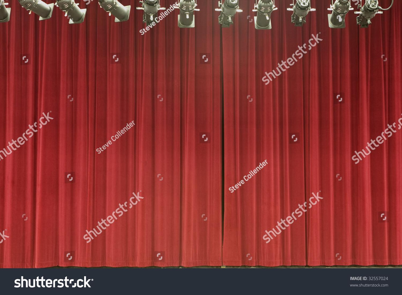 与舞台灯光舞台幕布-艺术,背景/素材-海洛创意()-中国