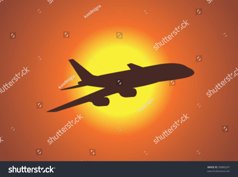 飞机(矢量图)