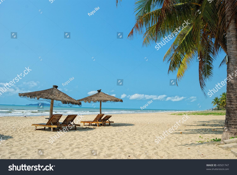 中国,海南三亚热带海滩的风景-公园/户外,交通运输-()