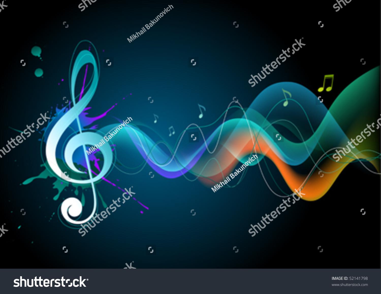 音乐背景-背景/素材,插图/剪贴图-海洛创意(hellorf)