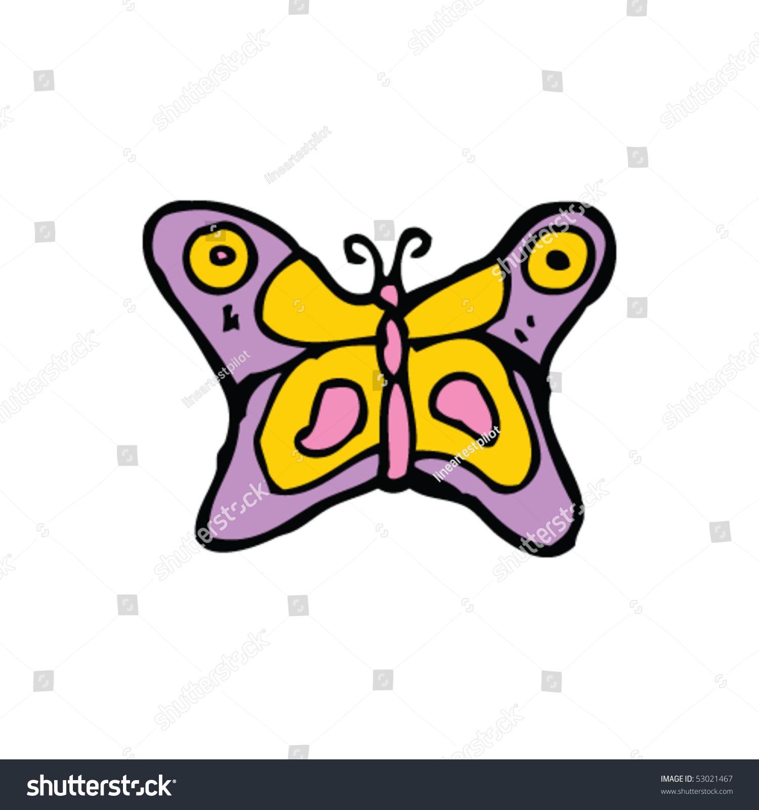 古怪的蝴蝶画-动物/野生生物