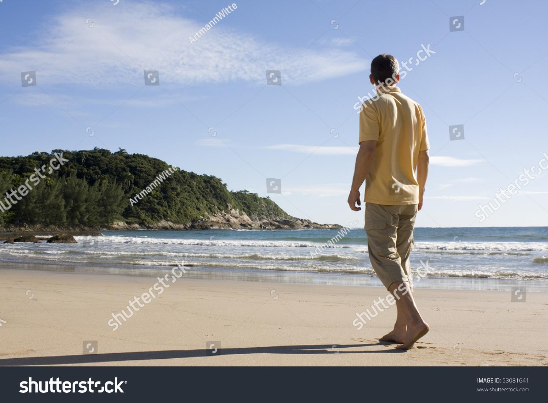 微信男生头像沙滩