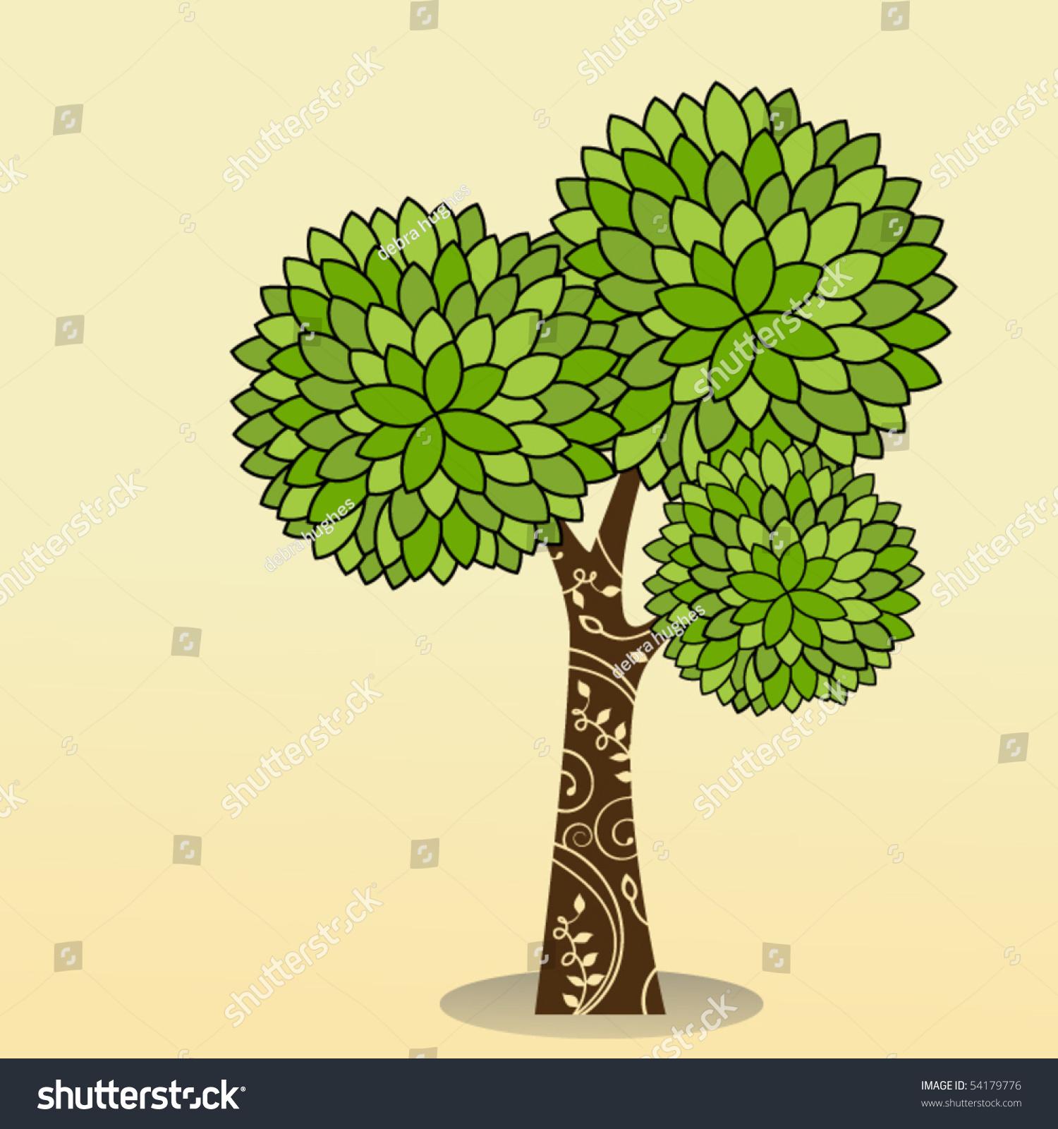 装饰树-插图/剪贴图,交通运输-海洛创意(hellorf)--.