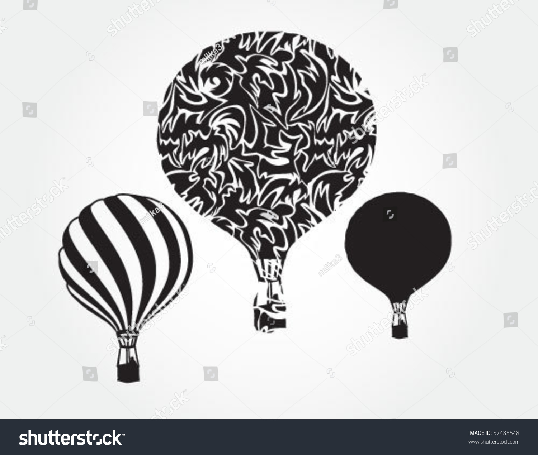 天空气球-物体,插图/剪贴图-海洛创意(hellorf)-中国图片