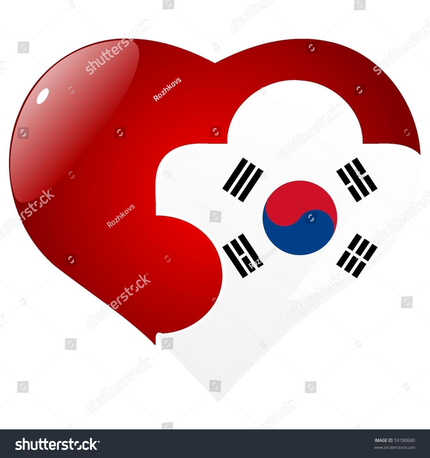 向量与韩国国旗红心难题