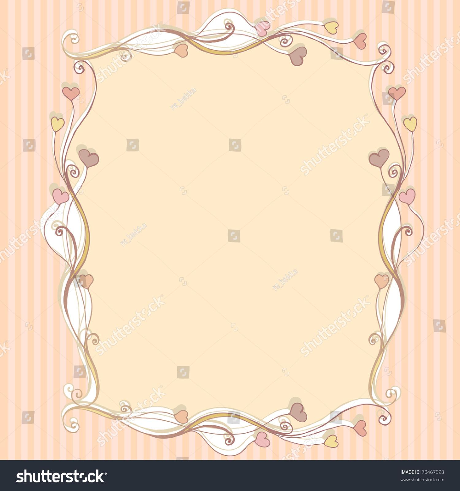 可爱的花情人节浪漫的背景