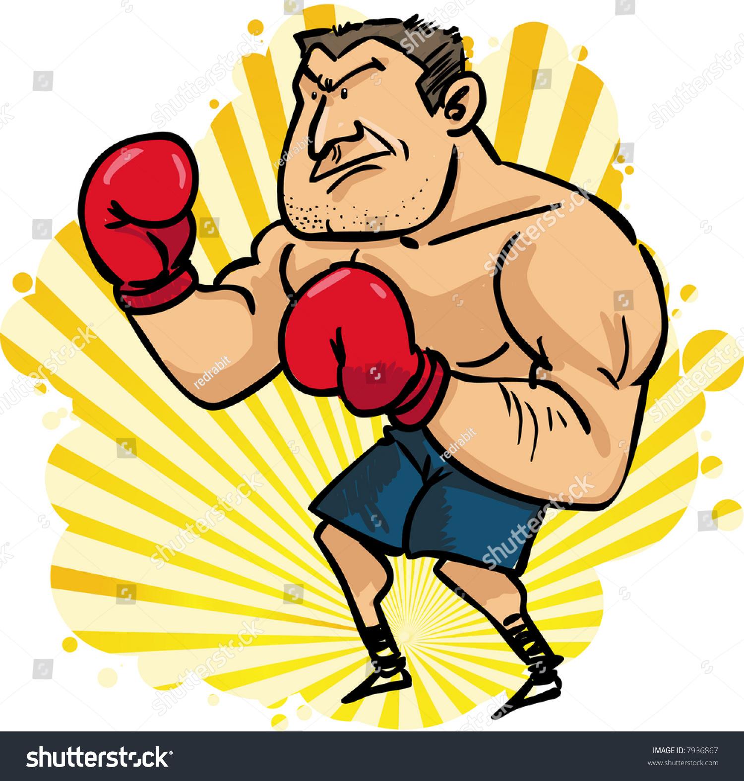 权力的拳击手-运动/娱乐活动,人物-海洛创意(hellorf)
