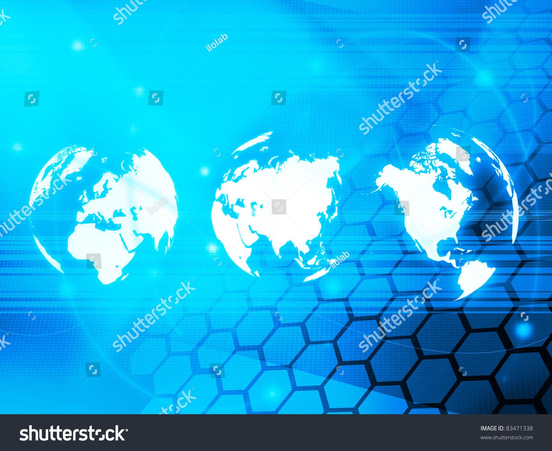 世界地图技术为你的设计风格