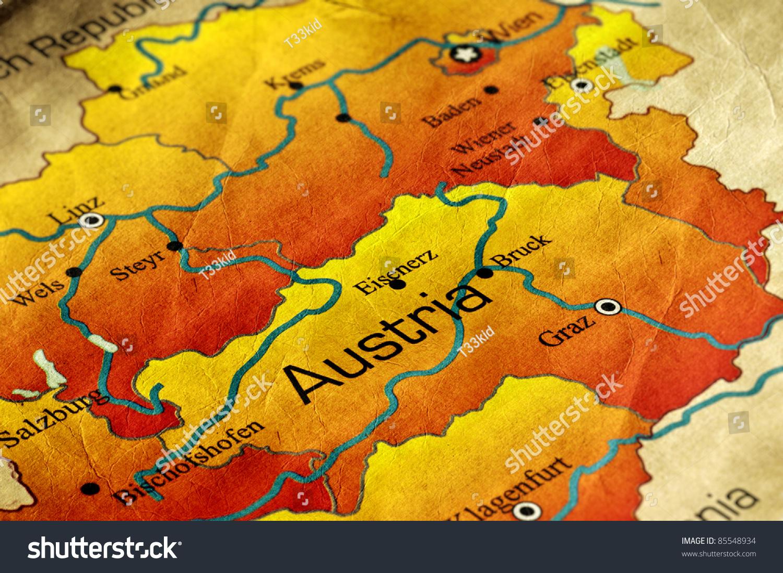 奥地利的古代世界地图-艺术,背景/素材-海洛创意()-合