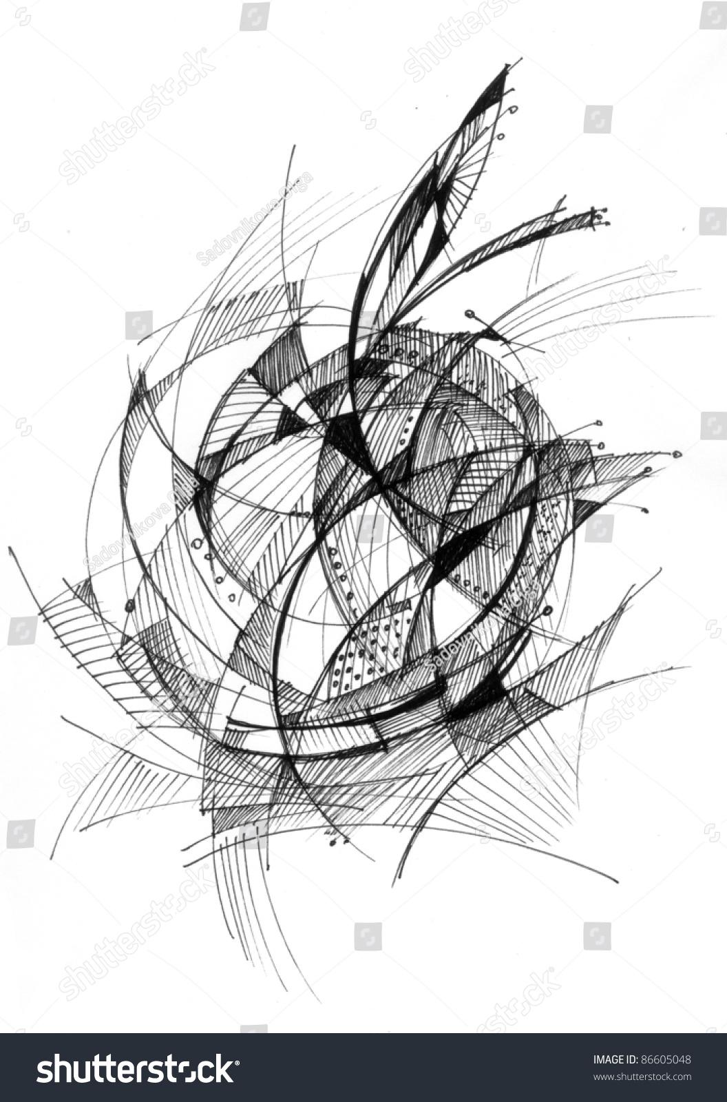 杯子类结构素描