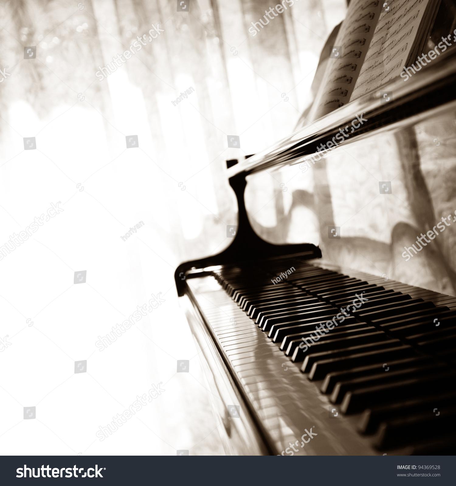 摘要钢琴-编辑,背景/素材-海洛创意(hellorf)-中国-.